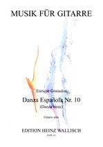 Enrique Granados: Danza Española Nr. 10 (solo)