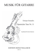 Granados Enrique: Spanischer Tanz Nr. 11