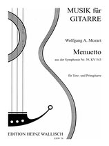 Wolfgang A. Mozart: Menuetto