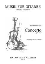 Vivaldi Antonio: Concerto op. 3, Nr. 9 (3Git)