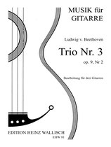 Beethoven Ludwig v. : Trio Nr. 3, op. 9, Nr. 2