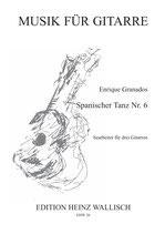 Granados Enrique: Spanischer Tanz Nr. 6