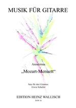 """Anonymus: """"Mozart-Menuett"""""""
