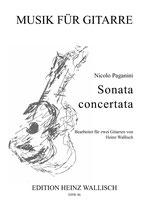 Nicolo Paganini: Sonata concertata