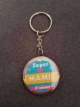 Porte clé Super Mamie d'amour réf 6