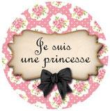 Porte clé Je suis une Princesse