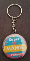 Porte clé Super Mamie réf 5