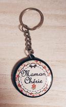 Porte clé Maman Chérie