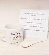 Mini mug expresso Parrain / Marraine