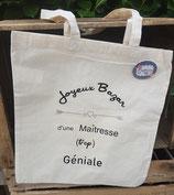 Tote Bag Joyeux Bazar de Maitresse