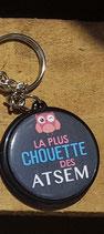 Porte clé Chouette ATSEM