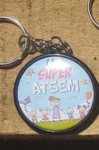 Porte clé Super ATSEM