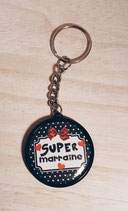 Porte clé Super Marraine