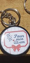 Porte clé 20/20 pour mon ATSEM