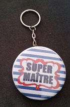 Porte clé décapsuleur Super Maître