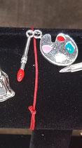 Bracelet breloque palette de peinture