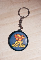 Porte clé Super Beau Papa