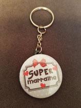 Porte clé SuperMarraine réf 5