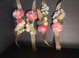 Bracelet (en fleurs séchées à partir de mi-juillet)