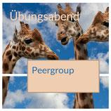 Übungsabend in der PeerGroup