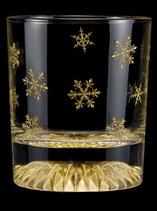 黄金のロックグラス 雪の結晶 全周