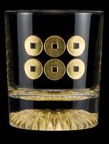 黄金のロックグラス 六文銭