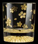 黄金のロックグラス 桜 全周