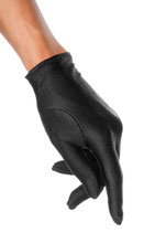 Satin-Handschuhe schwarz