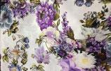 Blumen Baumwollstoff  Digitaldruck