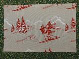 2 Tischset rot Winter