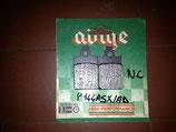 PASTIGLIE FRENO ADIGE APRILIA ITALJET PIAGGIO cod. P144ASX