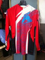 Maglia Acerbis cross 09 profile jersey rossa