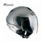 CASCO AIROH FLY PHONE COLORE ARGENTO