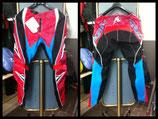 Pantalone Acerbis cross 09 profile rosso