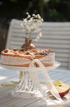 Apfelkuchen mit Streusel Wunderbar feuchter Apfelkuchen mit Streuseln / 12 Stk.