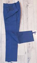 Feldhose Moleskin Original Blau Neu