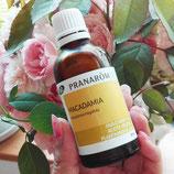 プラナロム マカデミアオイル 50ml  キャリアオイル 植物油 ケンソー 健草医学舎