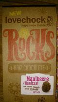 lovechock Rocks (Maulbeere/Hanfsaat mit einem Hauch von Reishi)