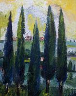 Five cypress