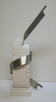 Das Band 30x15x69cm  Marmor und ANSI