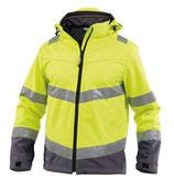 Herren Warnschutz Softshell-Jacke