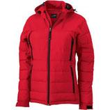 Damen Outdoor Hybrid Jacke - rot