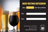 Gutscheine Beer Tasting