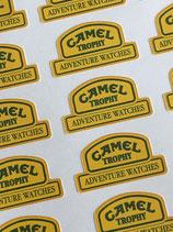 20 Camel Trophy Adventure Watches Aufkleber für Uhrenständer,  Bestellnr. 2017018