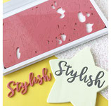 Sweet Stamp by Amy Letter Set Stylish