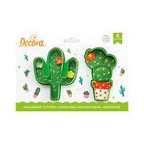 Decora - Cactus cutters 2 psc