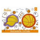 Decora - Basketball cutters 2 psc