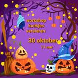 Workshop Koekjes Versieren Halloween 30 oktober 2021   11.00 - 14.00 uur = VOL
