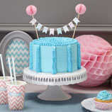 GINGER RAY CAKE BUNTING CHEVRON