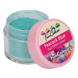 FUNCAKES EDIBLE FUNCOLOURS DUST - PEACOCK BLUE